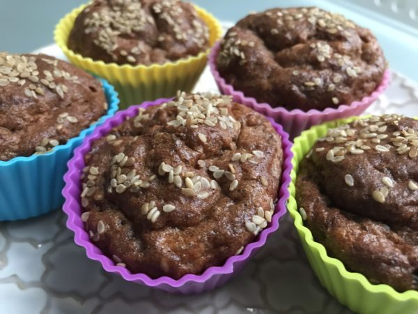 Mozzarelové muffiny detail