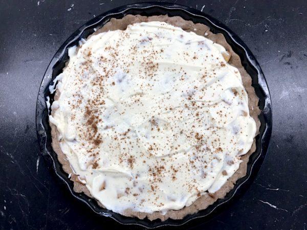 Jablkový pohankový koláč krok 2