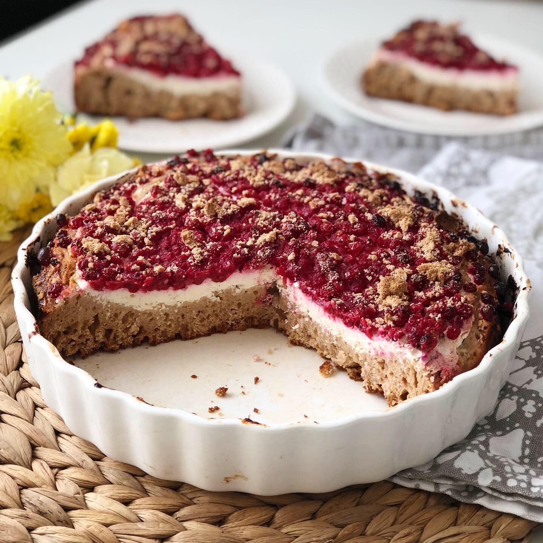 Rybízový koláč s tvarohem 3