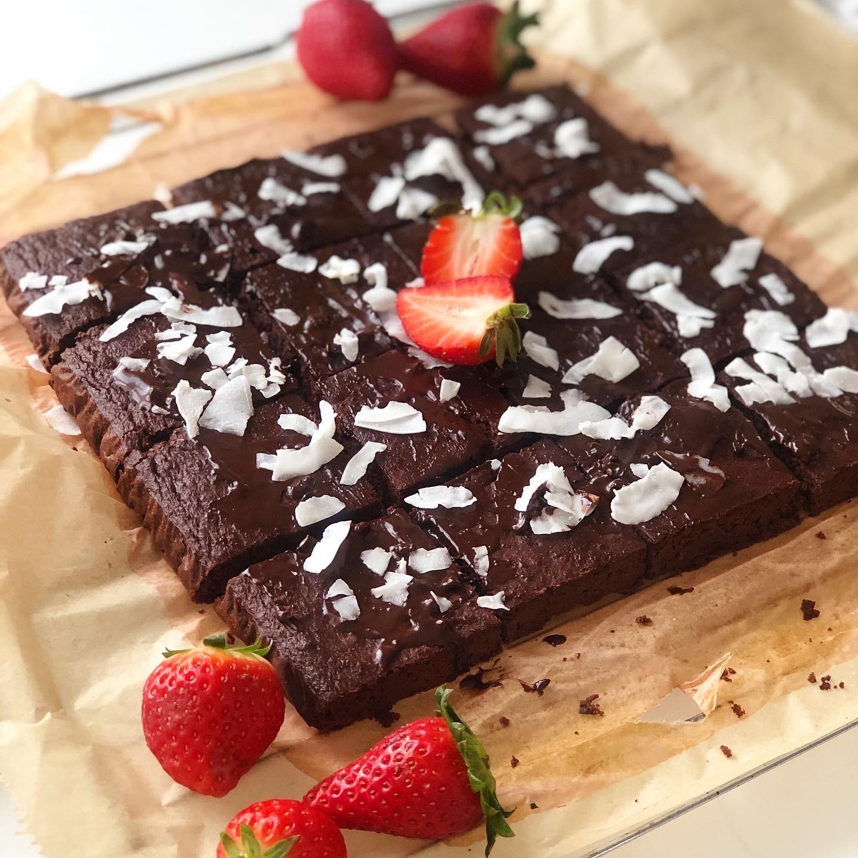 Řepové fazolové brownies